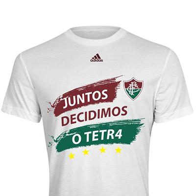 Camiseta Juntos decidimos o tetra