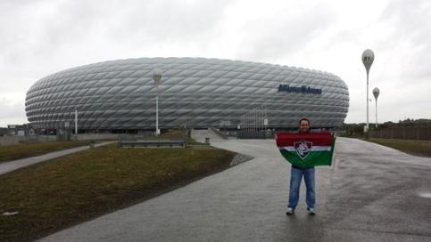Allianz Arena é tricolor!