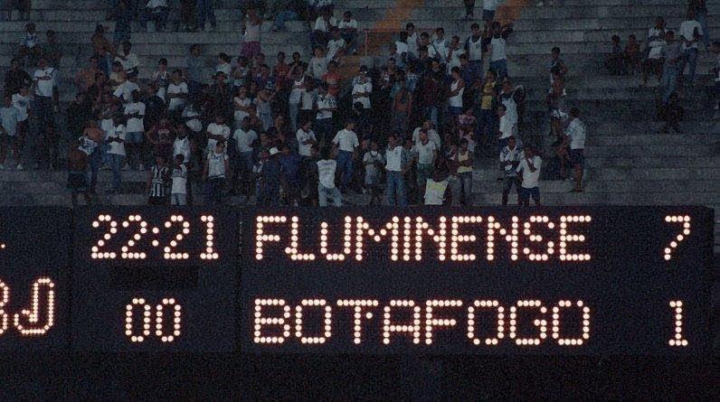Fluminense x Botafogo  grandes confrontos (da Redação) ca257c6169fe8