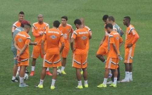 Treino Fluminense