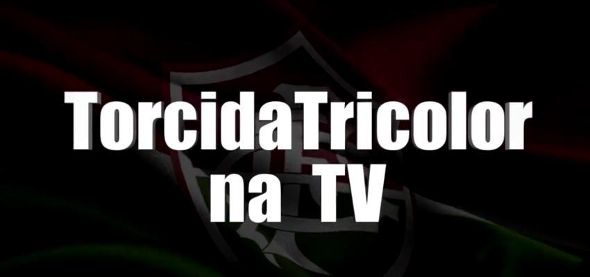 torcida tricolor na TV