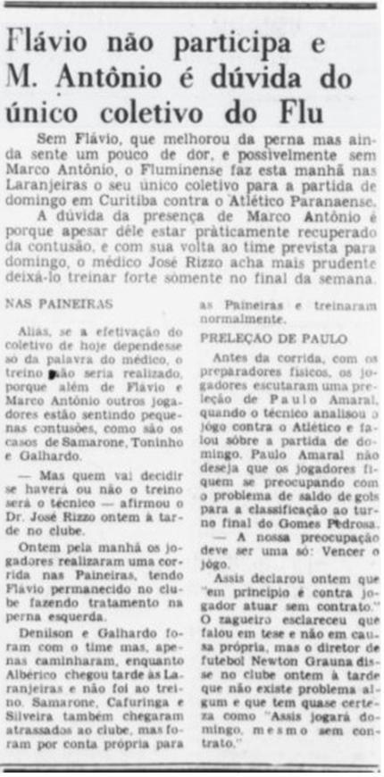 fluminense 02 12 1970