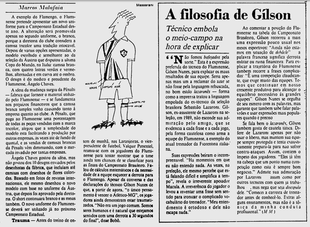fluminense 11 04 1991 JB
