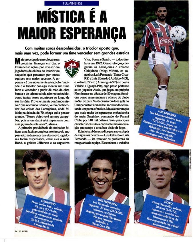 fluminense carioca 1993 placar 1