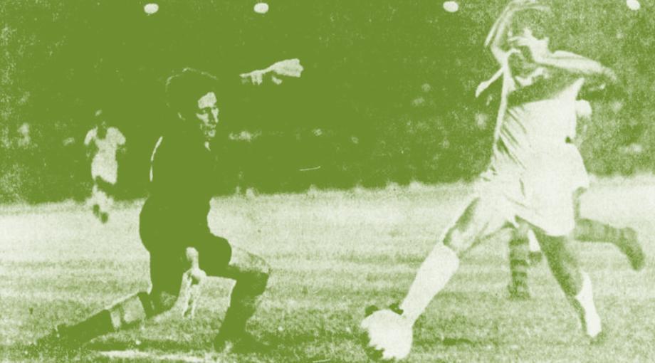 fla flu 15 06 1969 claudio contra dominguez segundo gol verde