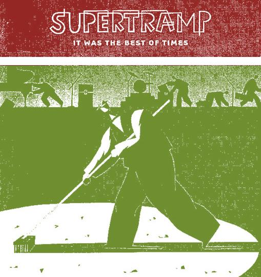 supertramp it was the best of times tricolor
