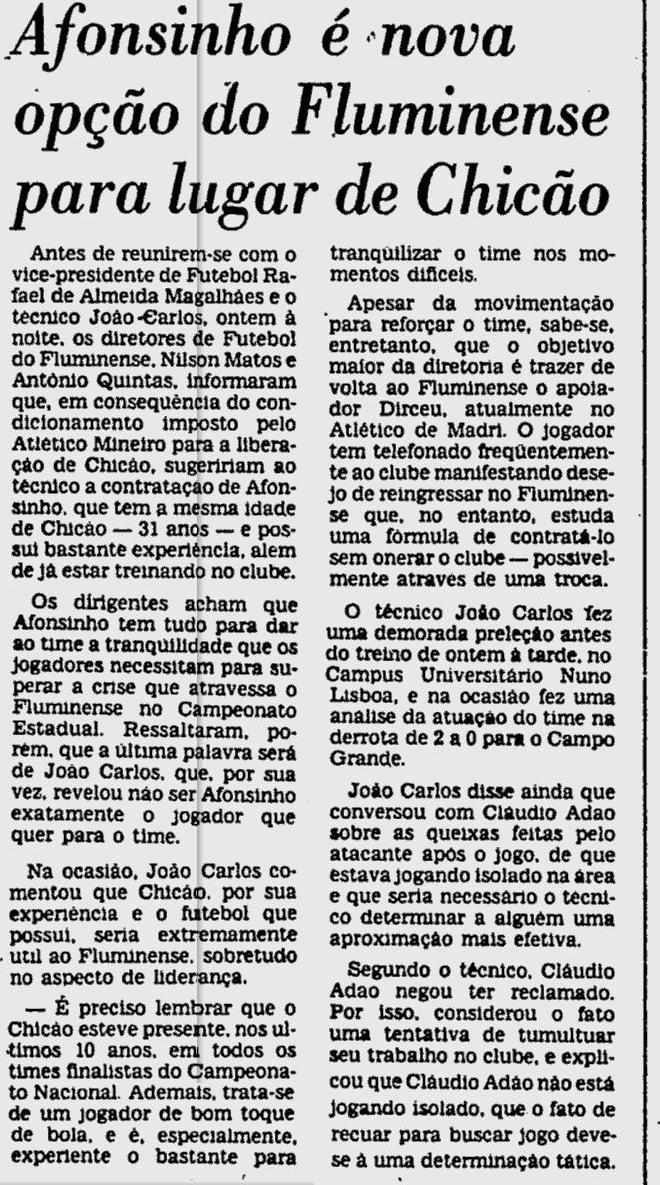 afonsinho 26 08 1981