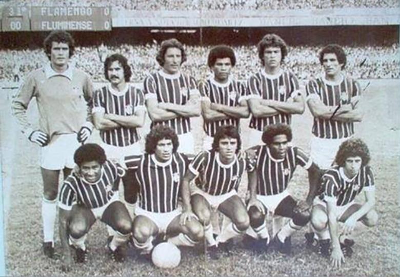 fluminense 1979 poster preto e branco
